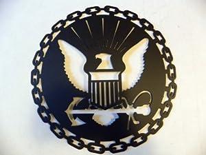 United States Navy USN Military Metal Wall Art Decor