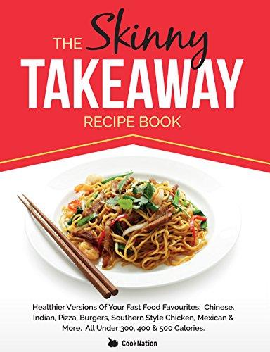 Food Book Cover Art : Ebook the skinny takeaway recipe book healthier versions