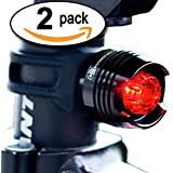 "#1 LED Tail Light! 100% LIFETIME GUARANTEE Money Back, 2-FOR-1 DEAL, Batteries Included, High Intensity Multi-Purpose Rear Bike Light - Magnus Innovation's ""Bold"" Fits on Bikes, Helmets, Backpacks, Easy Install (No Tools), Waterproof - 50% OFF TODAY - Limited Time Offer, BUY NOW"