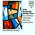 Late Romantic String Trios (Berlin Po...