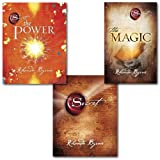 Rhonda Byrne Collection 3 Books Set Pack, The Secret,The Magic & The Power
