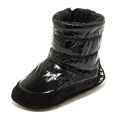 5689G stivaletto bimba nero MY FIRST BIKKEMBERGS culla scarpa boots shoes kids [17-18]