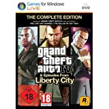 """Grand Theft Auto IV & Episodes from Liberty City - The Complete Edition - [PC]von """"Rockstar Games"""""""