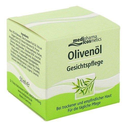 Olivenöl Gesichtspflege Creme, 50 ml