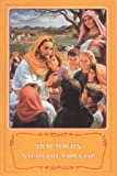img - for Jesus - Let the little children come to me / UZBEK LANGUAGE CHILDRENS BIBLE / 31 stories from the life of Jesus - illustrated / Uzbekistan book / textbook / text book