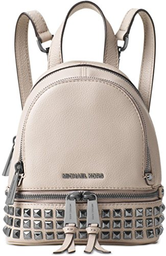 Michael Kors Rhea Extra-Small Studded Leather