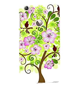 printtech Flower Tree Beautiful Greenery Back Case Cover for LeEco Le 1s