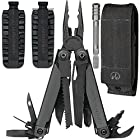 Leatherman Surge Multitool Black Oxide with Molle Sheath Includes a BONUS 42 Piece Bit Kit Assortment Bit Drivers Combo Kit + Bit Driver Extension