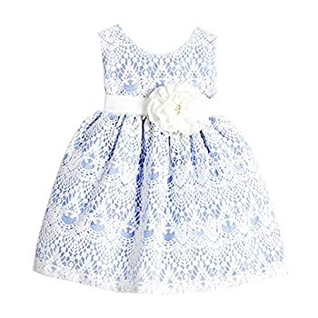 Sweet Kids Baby Girls' Sweet Vintage Country Style Lace Flower Girl Party Dress