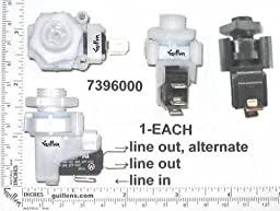 Jacuzzi 7396000;; Switch spdt 21 amp air pressure for pump and motor; Unfinish