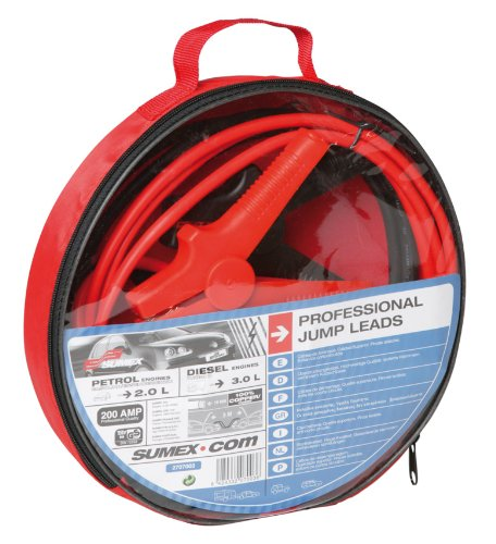 Sumex Jump Lead Booster Cables Professional 200 Amp