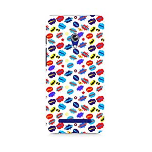 Ebby All Superheroes on white clipart Premium Printed Case For Asus Zenfone 5