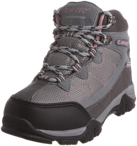 Hi-Tec Junior Tokyo WP Grey/ Pink Hiking Boot O001304/052/01 4 UK