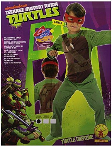 Rubie's Costume da Tartaruga Ninja, Bambino, 3/4 anni