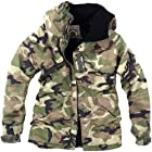 ililily Winter Overcoat Snowboard Jacket with Hood (jackets-014-5-M)