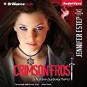 Crimson Frost: Mythos Academy, Book 4 Audiobook by Jennifer Estep Narrated by Tara Sands