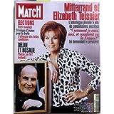 PARIS MATCH N° 2502 du 07-05-1997 MITTERRAND ET ELIZABETH TEISSIER - ASTROLOGUE - ELECTIONS - DELON ET ROSALIE...
