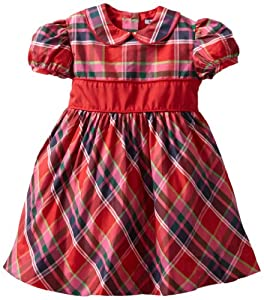 Hartstrings 2-6X Toddler Blend Plaid Party Dress from Hartstrings