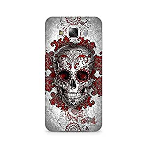 Mobicture Skull Abstract Premium Printed Case For Samsung Grand 3 G7200