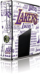 NBA - Los Angeles Lakers - LA Lakers Historic Blast - Microsoft Xbox 360 Slim (2010)... by Skinit