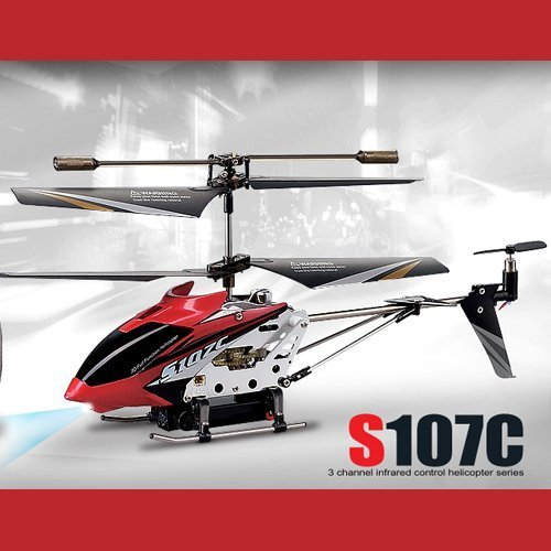 51udrEp6CcL Syma S107C 3 Channel RC Helicopter With Camera! and Gyroscope Stability Control