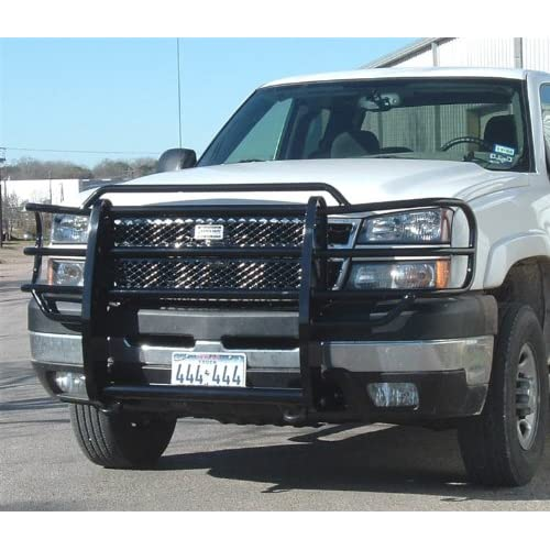 .com: Ranch Hand GGC031BL1 Legend Grille Guard for Chevy Silverado HD