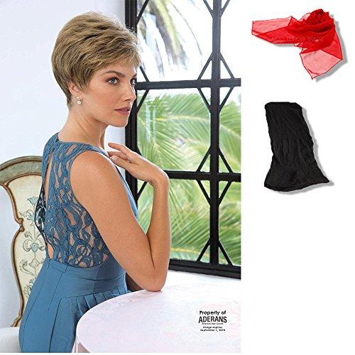 bundle-3-items-pam-by-noriko-chiffon-scarf-black-wig-cap-liner-color-chosen-golden-brown