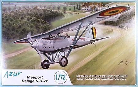 Maquette Nieuport-Delage NiD-72, 2ème GM