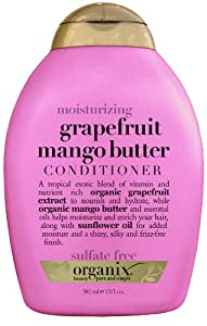 Organix Grapefruit Conditioner, Mango Butter, 13 Ounce (Pack of 2)