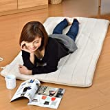 山善(YAMAZEN) 洗えるどこでもカーペット(タテ80×ヨコ180cm長方形) YWC-P18(C)ベージュ