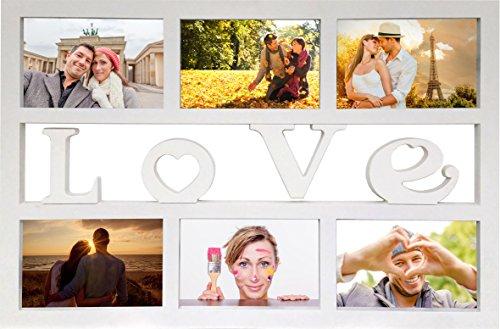 empireposter-collage-bilderrahmen-love-kunststoff-weiss-multishot-grosse-cm-ca-48x33-wechselrahmen-r