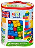 Mega Bloks First Builders Big Building Bag, 80-Piece (Classic)