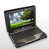 ASUS Eee Pad Transformer TF101 Leather KeyBoard Docking Station Portfolio Stand Case Cover, Black