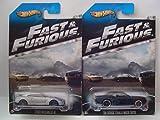 Hot Wheels Fast & Furious 2 Vehicle Set 2009 Nissan GT-R & 2008 Dodge Challenger SRT8