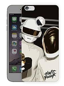 "Humor Gang Daft Punk In The HousePrinted Designer Mobile Back Cover For ""Apple Iphone 6 - 6S (Logo Cut)"" (3D, Matte, Premium Quality Snap On Case)..."