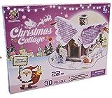 Angel Christmas Hut 3D Paper Puzzle, 22 Pieces by 3d Puzzle Place