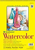 Strathmore 300 Series Watercolor Paper 9 in. x 12 in. pad of 12 wire bound