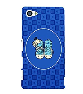 PRINTVISA Abstarct Cute Shoes Case Cover for Sony Xperia Z5 Compact::Sony Xperia Z5 Mini