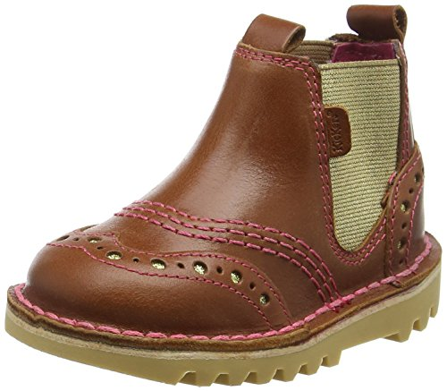 KickersKick Chella - Stivaletti da ragazza' , marrone (Brown (tan)), 26