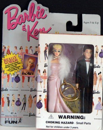 BARBIE + KEN Keychain Set - Enchanted Evening - 1