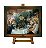 Luncheon of the Boating Party - Renoir Large Framed Art Print on Canvas
