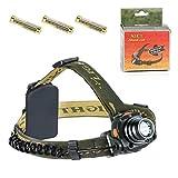 Streetcat LED ヘッドライト アウトドアヘッドライト 照明ヘッドライト 防水性能IPX7 500ルーメン 強力にスポット 照射距離約100メートル 登り、釣り、ランニング、キャンプ、読書などアウトドア活動に適用する