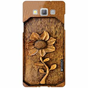 Samsung Galaxy A5 Back Cover - Silicon Wood Designer Cases