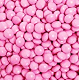 Candy Coated Chocolate Gems - Pink (2.5 lb bag)