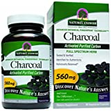 Nature's Answer Activated Charcoal Vegetarian Capsules, 90-Count