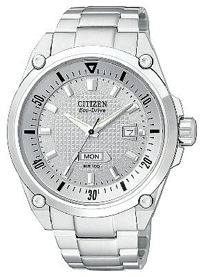 Citizen Men's BM5000-54A Eco-Drive WR100 Stainless Steel Watch