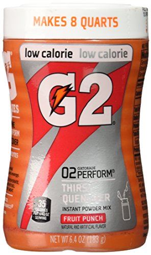 Gatorade G2 02 Perform Thirst Quencher Instant Powder Fruit Punch Drink 6.4 Oz (1 Each) (Gatorade G2 Powder Fruit Punch compare prices)