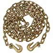 MIBRO High-Strength Tow Chain with Clevis and Slip Hooks - 5/16in. x 14ft., 4,700-Lb. Working Load, Model# 42611