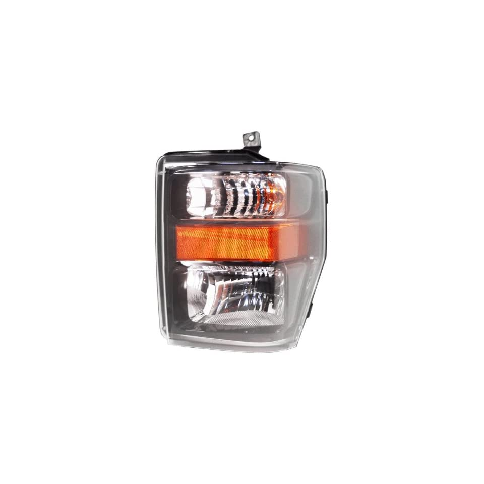 OE Replacement Ford Super Duty Driver Side Headlight Assembly Composite (Partslink Number FO2502285)