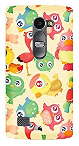 WOW Printed Designer Mobile Case Back Cover For LG Leon